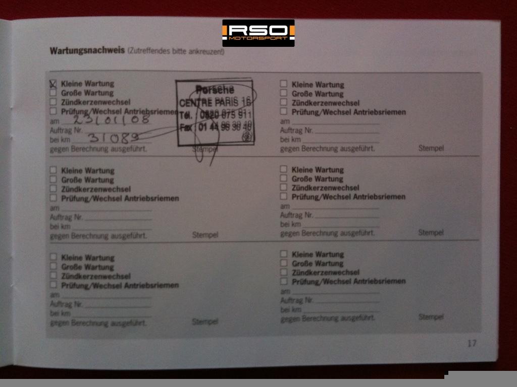 RSO Selection Porsche 997 Carrera S