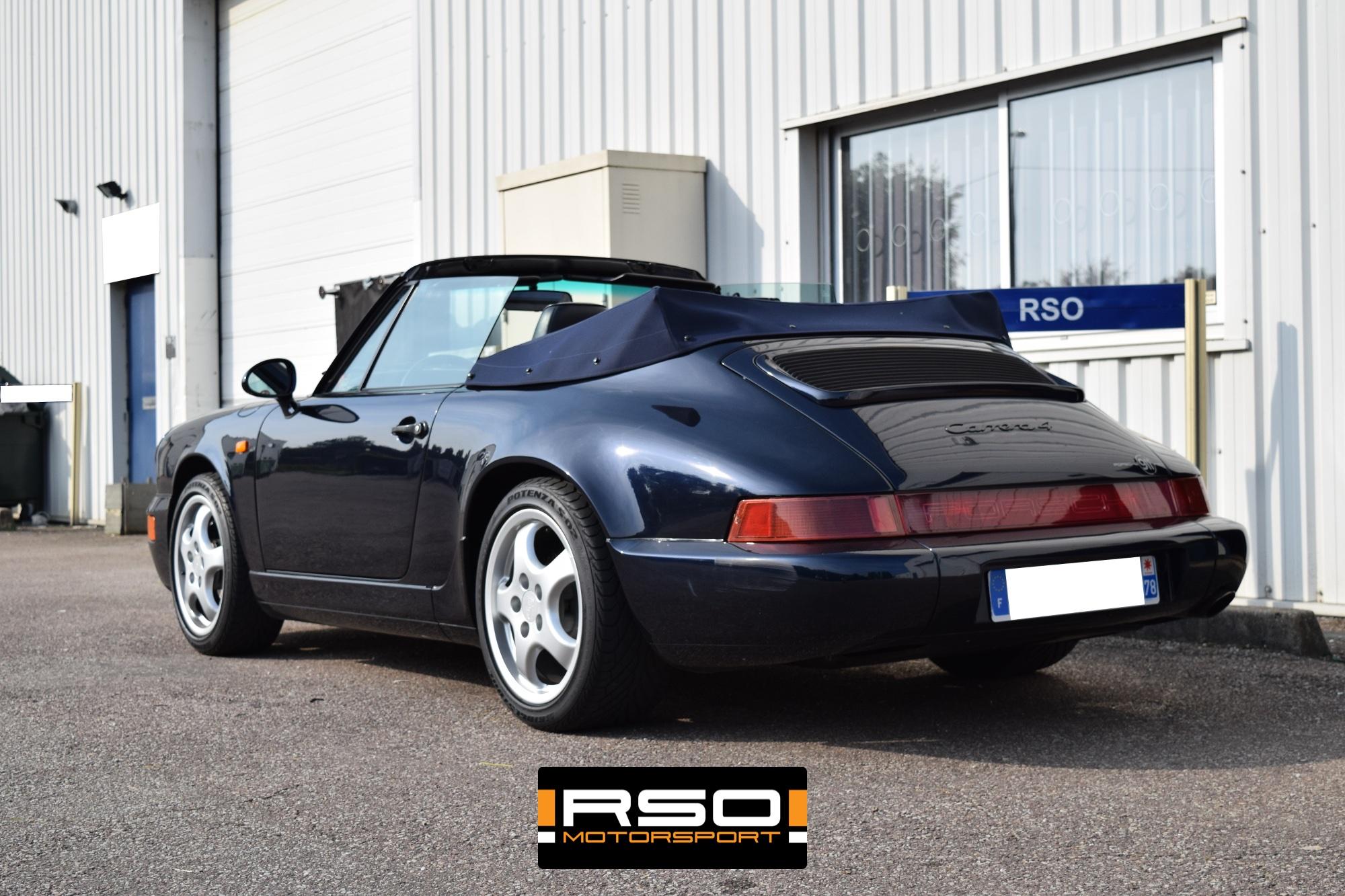 RSO Selection Porsche 964 Cabriolet Cabriolet
