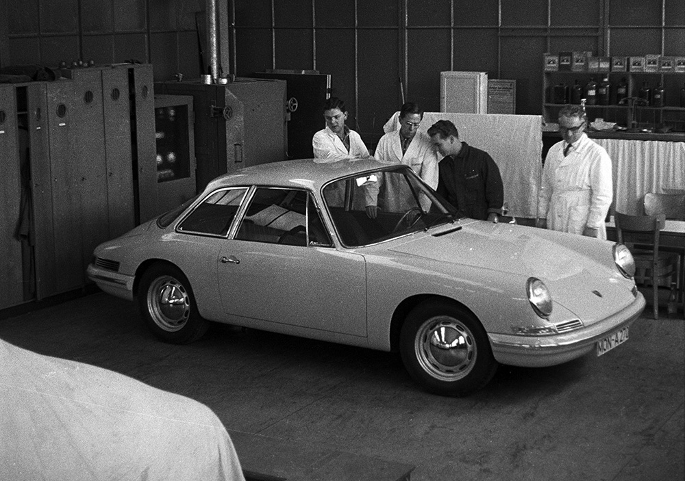 Porsche Type 754 Prototype1961