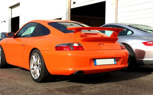 RSO Motorsport Porsche 996 GT3, Porsche 997 Carrera S, Porsche 911 3.2